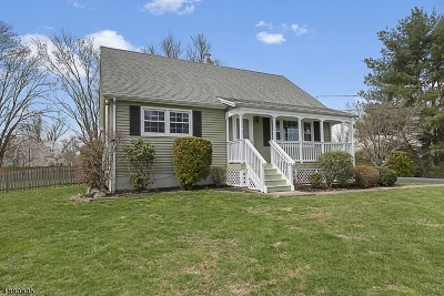 Branchburg Twp. Single Family Home Active Under Contract: 310 Stony Brook Rd