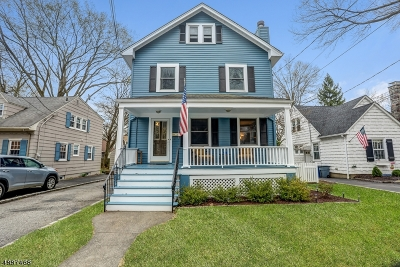 Springfield Twp. Single Family Home For Sale: 36 Marcy Ave