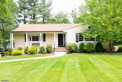 Berkeley Heights Single Family Home For Sale: 124 Glenside Road
