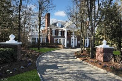 Franklin Lakes Boro Single Family Home For Sale: 750 Apple Ridge Rd
