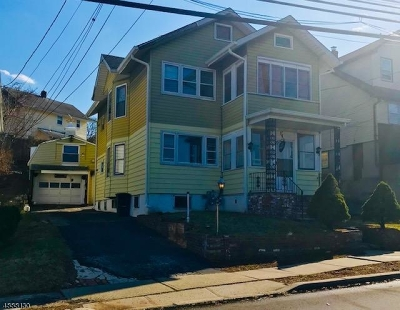 Nutley Twp. NJ Multi Family Home For Sale: $435,000