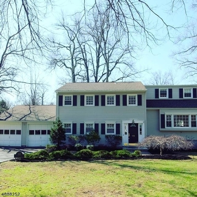 Berkeley Heights Twp. Single Family Home For Sale: 113 Sutton Dr