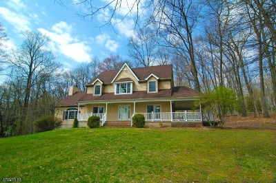 Alexandria Twp. Single Family Home For Sale: 326 Woolf Rd