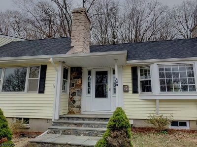 Sparta Twp. Single Family Home For Sale: 45 Summit Trl