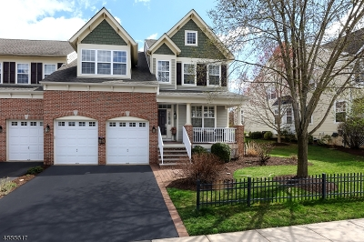 Hunterdon County Condo/Townhouse For Sale: 242 Holcombe Way