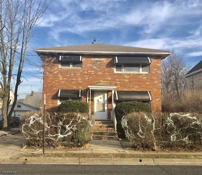 Linden City Multi Family Home For Sale: 1216 Passaic Ave