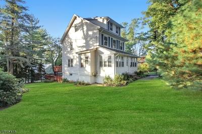 Millburn Twp. Single Family Home For Sale: 181 White Oak Ridge Road