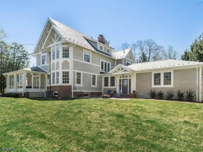 Chatham Boro Single Family Home For Sale: 210 Fairmount Ave