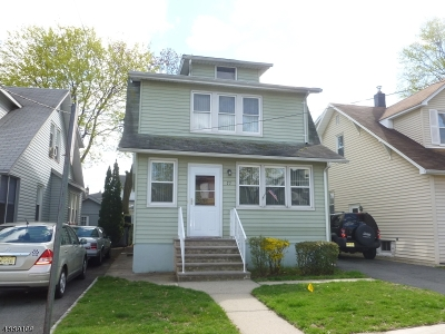 Nutley Twp. NJ Single Family Home For Sale: $314,900