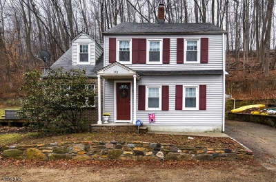 Randolph Twp. Single Family Home For Sale: 95 Millbrook Ave