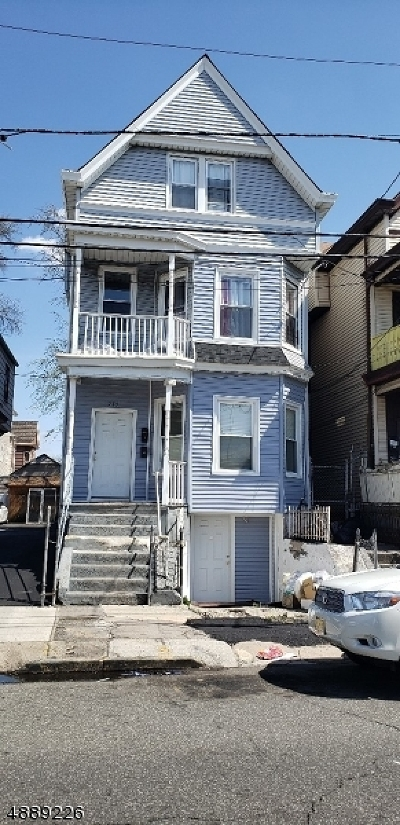 Passaic County Multi Family Home For Sale: 745 E 22nd St