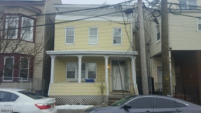Paterson City Single Family Home For Sale: 278 Ellison St #1