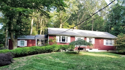 Chester Twp. NJ Single Family Home For Sale: $424,900