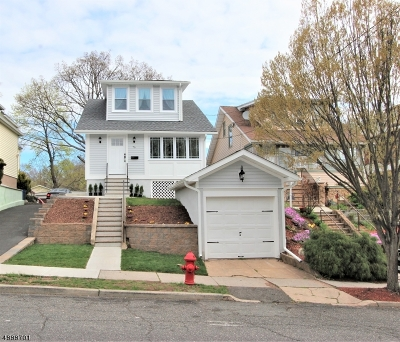 Nutley Twp. NJ Single Family Home For Sale: $399,000