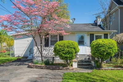 Parsippany-Troy Hills Twp. Single Family Home For Sale: 45 Minnehaha Blvd