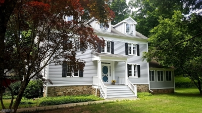Tewksbury Twp. Single Family Home For Sale: 7 Fairmount Rd East