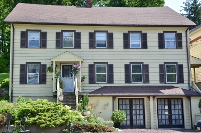Lafayette Twp. Single Family Home For Sale: 106-108 Route 15