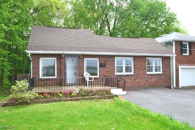 Parsippany-Troy Hills Twp. Single Family Home For Sale: 719 Lake Shore Dr