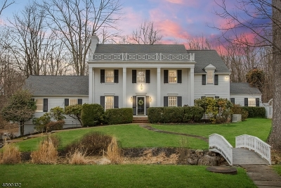 Mendham Boro, Mendham Twp. Single Family Home For Sale: 2 North Gate Rd