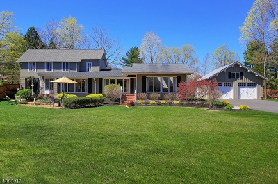 Bernards Twp. Single Family Home For Sale: 4 Monroe Place