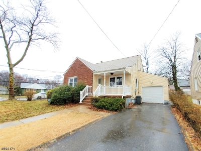 Hillside Twp. Single Family Home For Sale: 1010 Voorhees St