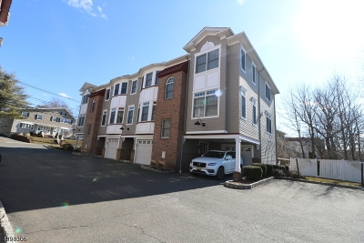 Nutley Twp. NJ Condo/Townhouse For Sale: $389,900