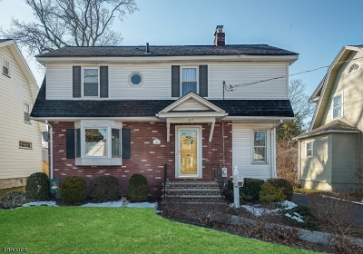 Roselle Park Boro Single Family Home For Sale: 152 E Lincoln Ave