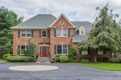 Mendham Boro, Mendham Twp. Single Family Home For Sale: 1 Abbington Way