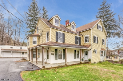 Sparta Twp. Single Family Home For Sale: 30 Glen Rd