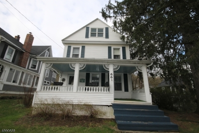 Franklin Boro Single Family Home For Sale: 66 Church St