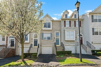 Nutley Twp. NJ Condo/Townhouse For Sale: $468,000
