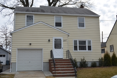 Union Twp. Single Family Home For Sale: 1107 Falls Ter