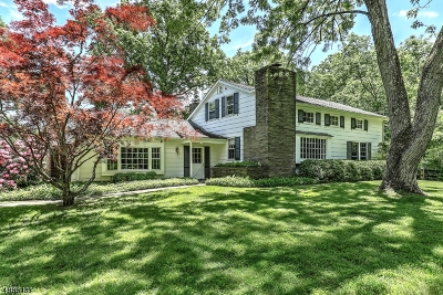 Harding Twp. NJ Single Family Home For Sale: $1,199,000