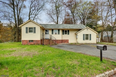 Parsippany-Troy Hills Twp. Single Family Home For Sale: 189 Allentown Rd