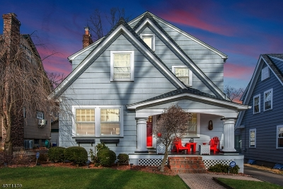 Glen Ridge Boro Twp. Single Family Home For Sale: 19 Madison St