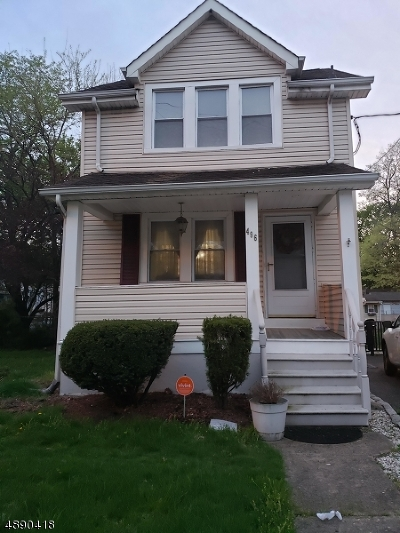 Maplewood Twp. Single Family Home For Sale: 454 Irvington Ave Aka 496