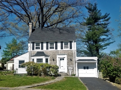 West Orange Twp. NJ Single Family Home For Sale: $340,000