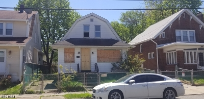 Paterson City Single Family Home For Sale: 348-350 9th Ave