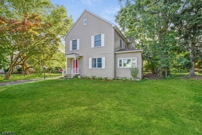 Cranford Twp. Single Family Home For Sale: 1 Samoset Road