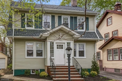 South Orange Village Twp. Single Family Home Active Under Contract