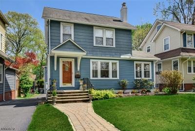 South Orange Village Twp. Single Family Home For Sale: 4 E Clark Pl