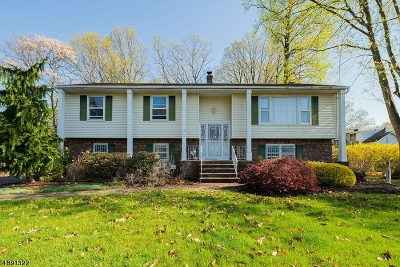 Hawthorne Boro NJ Single Family Home For Sale: $599,000