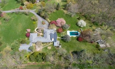 Mendham Boro, Mendham Twp. Single Family Home For Sale: 27 Washington Valley Rd