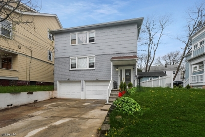 Maplewood Twp. Multi Family Home For Sale: 267-269 Parker Ave