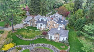 Bernards Twp., Bernardsville Boro Single Family Home For Sale: 271 Mine Brook Rd