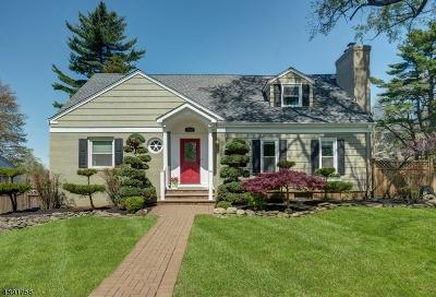Chatham Twp Single Family Home For Sale: 350 Fairmount Avenue