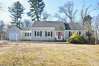 Fanwood Boro Single Family Home For Sale: 115 Westfield Rd