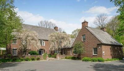 Bernards Twp., Bernardsville Boro Single Family Home For Sale: 403 Mine Brook Rd