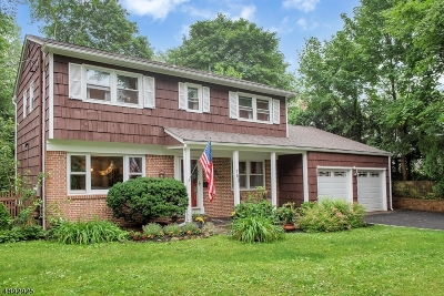 Montclair Twp. Single Family Home For Sale: 783 Valley Rd