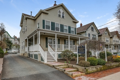 Morristown Town, Morris Twp. Multi Family Home For Sale: 86 Washington St